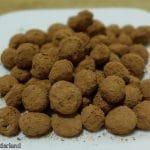 Chufa cacaopoederballetjes