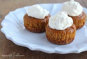 Muffins van pompoen