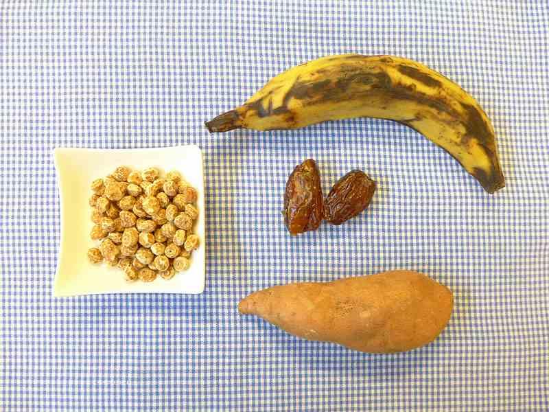 Koolhydraten in chufa of tijgernoten