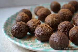 Chocolade-chufaballetjes